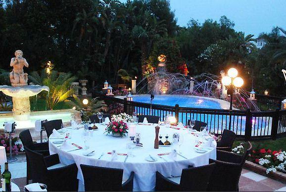 Restaurant Villa Tiberio